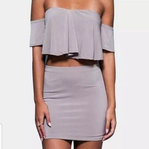 Other - Two piece body con outfit